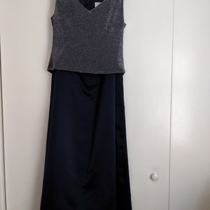 After Six - Dressy Skirt - Sleeveless Top Size 10